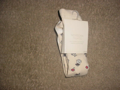 Girls H&m 2-4 Months Old  Tights One Pair