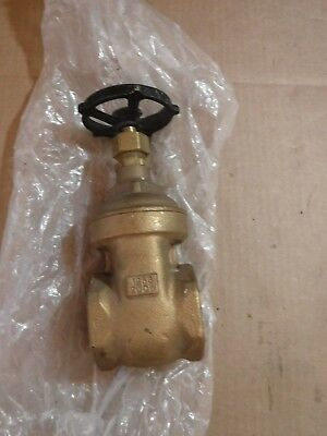 New Hammond 606 Gate Valve #2 125S 200W Made In The Usa
