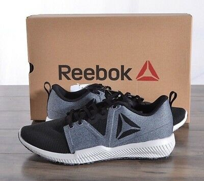 48695ef1ad3a NEW Reebok Men s Hydrorush TR Runner Athletic Running Shoes 10 MED Grey  CN7005