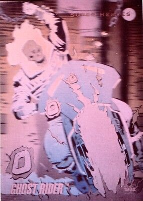 Marvel Universe 3 1992 Impel Hologram Insert Chase Card H-5 Ghost Rider Def