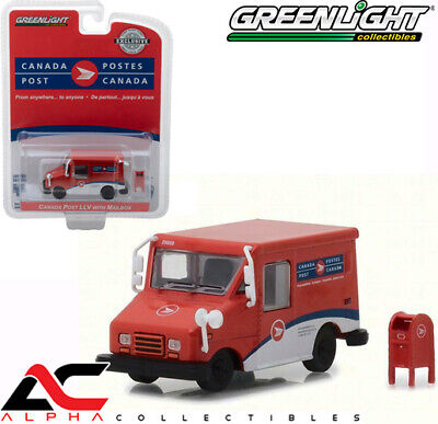 Greenlight 29889 1:64 Canada Post Llv Long Life Delivery Vehicle