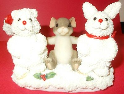 """Charming Tails """"frosty Friends""""  98/260 - Special Edition"""