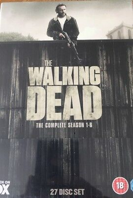 The Walking Dead: The Complete Season 1-6 DVD New Sealed Minor Damage