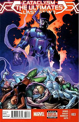Cataclysm: The Ultimates' Last Stand Comic 3 Marvel 2014 Bendis Bagley Hennessy