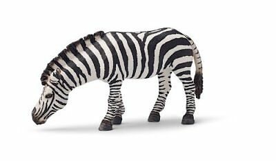 ZEBRA GRAZING by Schleich/ 14609/ RETIRED/ toy