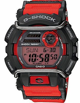 G-Shock GD400-4 Standard Digital Luxury Watch - Red / GD-400