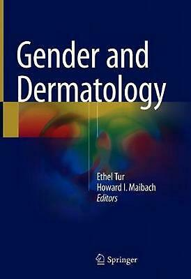 GENDER AND DERMATOLOGY Hardcover Book Free Shipping!
