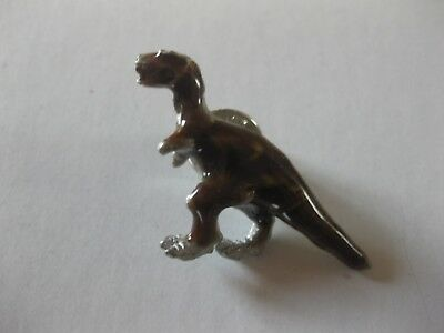 Dinosaur T Rex Enamel Finish   Pin Back New