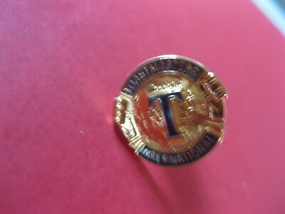 Vintage Toastmaster International Gold Tone TIE TACK PIN BACK NEW