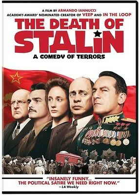 The Death of Stalin [New DVD] Ac-3/Dolby Digital, Amaray Case, Dolby, Subtitle