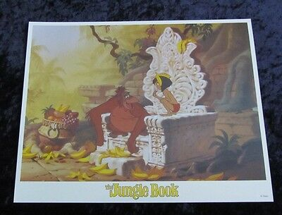 Walt Disney's The Jungle Book lobby card # 8 (90's Reissue Lobby Card)