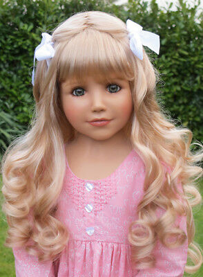 Masterpiece Dolls Crystal Blonde Wig, Fits Up To a 20-inch Head
