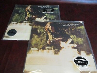 Graham Nash Songs For Beginners Classic Records 200 Gram Complete Wrap +Rhino Lp