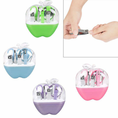 8 in 1 Pedicure Manicure Set Stainless Nail Clippers Cuticle Grooming Kit Case