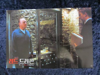Red Dragon lobby card # 2 - Anthony Hopkins, Silence Of The Lambs