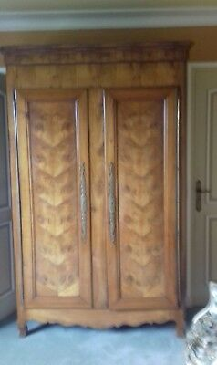 Beautiful Fruit Wood Antique French 19Thc Armoire From Concarneau Britanny
