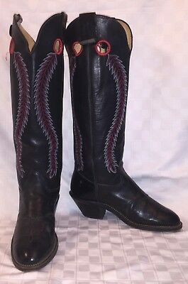 Hoodies & Sweatshirts Vintage Mens Usa Made Tall Olathe Buckaroo Cowboy Boots Western Boots Sz 9.5 Ee Clothing, Shoes & Accessories