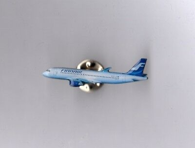 Finnair Flugzeug  Airline Pin