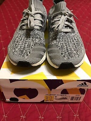 ADIDAS ULTRA BOOST UNCAGED Grey Charcoal Green BB3898 with