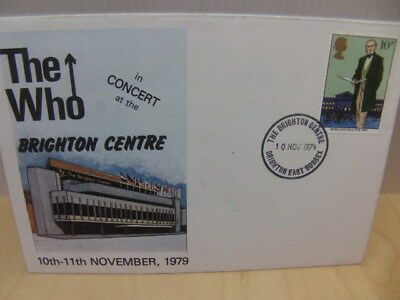 The Who in Concert at Brighton Centre – 10th-11th November 1979 First Day Cover