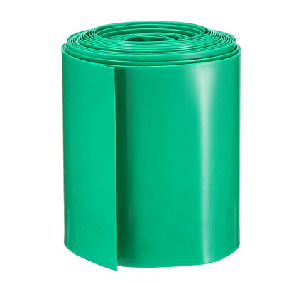 PVC Heat Shrink Tubing Tube 56mm Battery Wrap for AAA Battery 5M Green
