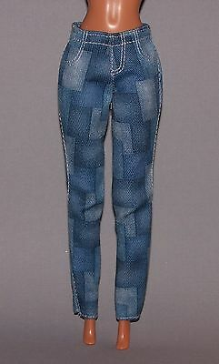 Barbie Doll Clothes Fashionista Life in the Dreamhouse Faux Denim Jeans Pants