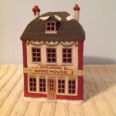 Dept 56 Dickens Village A Christmas Carol M.Fezziwig Warehouse