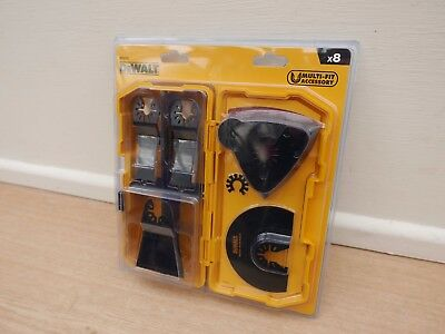 Dewalt Dt20731 8Pce Set In Tough Case For Oscillating Multi Tool