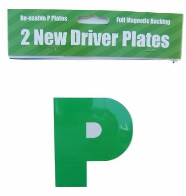 2 New driver Plates with full magnetic backing