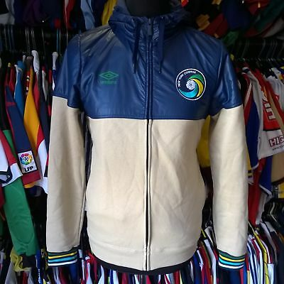 New York Cosmos Track Top Football Shirt Hoody L/s Umbro Jersey Size Adult S