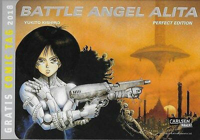Battle Angel Alita / Spezial zum Gratis Comic Tag 2018