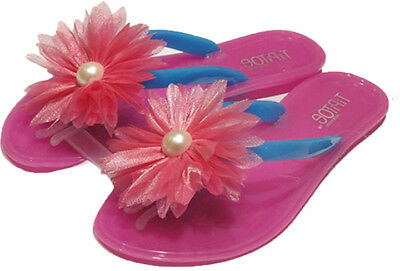 BEVERLY ROCK GIRL'S JELLY SANDALS WITH FLOWER > (Lot of 42 Pairs)