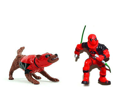 X MEN Super Hero Marvel Deadpool Crops DOGPOOL 3.75/'/'  Figure Boy Toy ZX353