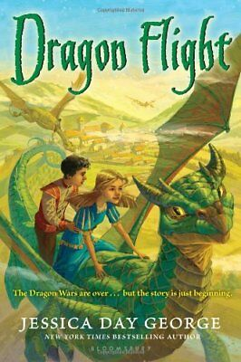 Dragon Flight (Dragon Adventures) by George, Jessica Day Book The Cheap Fast