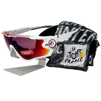 92600fd5626 Oakley OO 9290-18 TOUR DE FRANCE JAW BREAKER White Prizm Road Sport  Sunglasses
