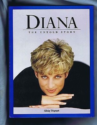 #ww.  12  Lady Diana Special Issues In A Binder - Telegraph Newspaper