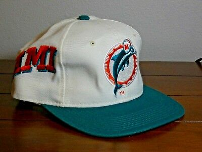 7ce48c946 ... greece vintage old school logo miami dolphins cap hat brand new with  tags pro line 31267 ...