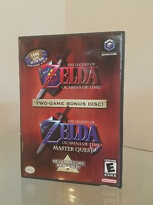 The Legend Of Zelda Ocarina Time Master Quest Gamecube rare near mint complete
