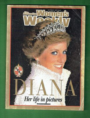 #ww.    #1.  Four Lady Diana Womens Weekly's Magazines And Woman's Day Special