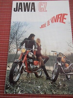 Catalogue / Pub Cyclomoteur Jawa / Cz -   ( 24 )