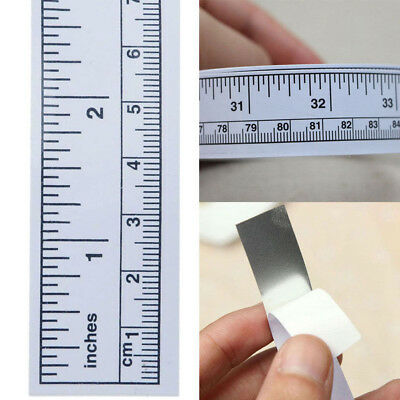 Sticker Metric Sewing Vinyl Adhesive Machine Ruler Measure Tape Self 45/90cm