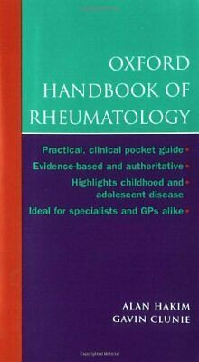 Oxford Handbook of Rheumatology (Oxford Handbooks ... by Clunie, Gavin Paperback