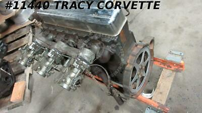 1954 Corvette 3835911 Used Rare 235 6 Cyl Tri-power Engine Assembly Dated B 9 4