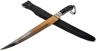 Kyber Bowie Fixed Blade Knife 18 + inches overall includes custom sheath