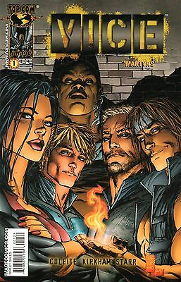 VICE: Martyrs Comic 1 Silvestri Cover B Image Top Cow 2005 Coleite Kirkham Starr