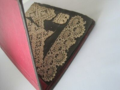 Antique Lace Samples in  Book 6 Pages