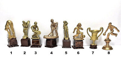 Dollhouse Miniature Trophy - Choice of 1 - 1:12 Scale
