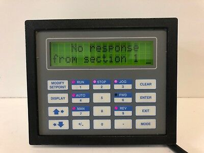 New Old Stock! Delta Technologies Operator Interface Display 6180-6184-234938