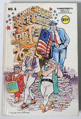 ESZ6578. OVERSTREET The Comic Book Price Guide 6th Edition Hardcover 1976 /