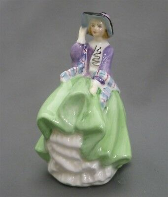TOP O THE HILL Royal Doulton England Bone China MINIATURE Doll Figurine HN 2126